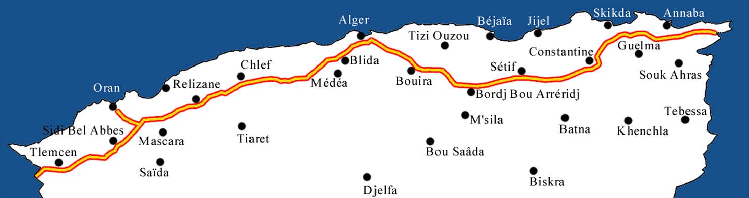 est ouest carte - Image