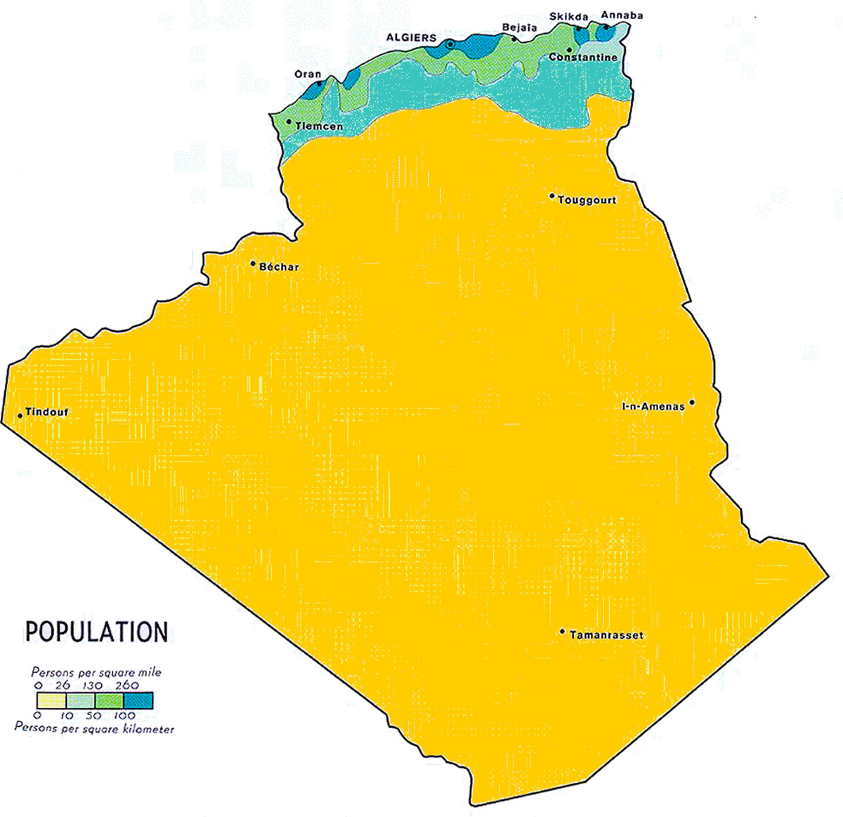 Carte Algerie Wmf.Cartes Algerie Plans Et Maps Des Villes Algeriennes