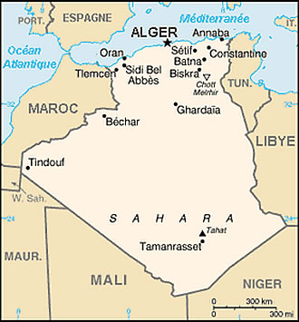 Carte Zeralda Algerie.Carte Algerie Francais Carte Algerie